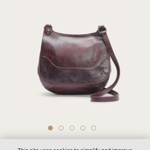 NWT FRYE MELISSA SADDLE CROSSBODY